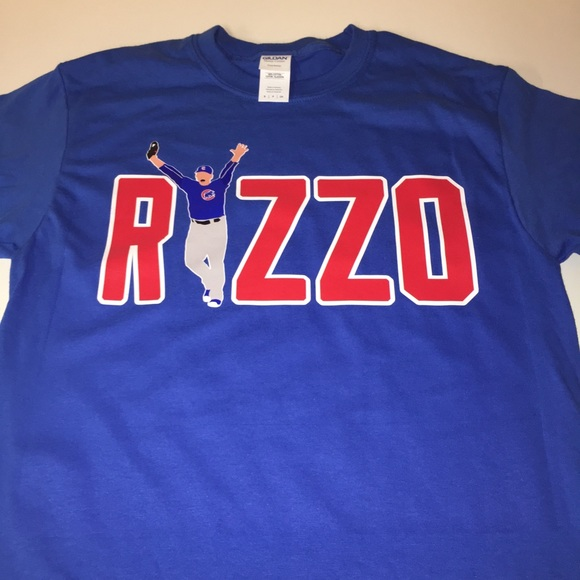 wholesale dealer 87d3b 29c3d Chicago Cubs Anthony Rizzo Shirt NWT